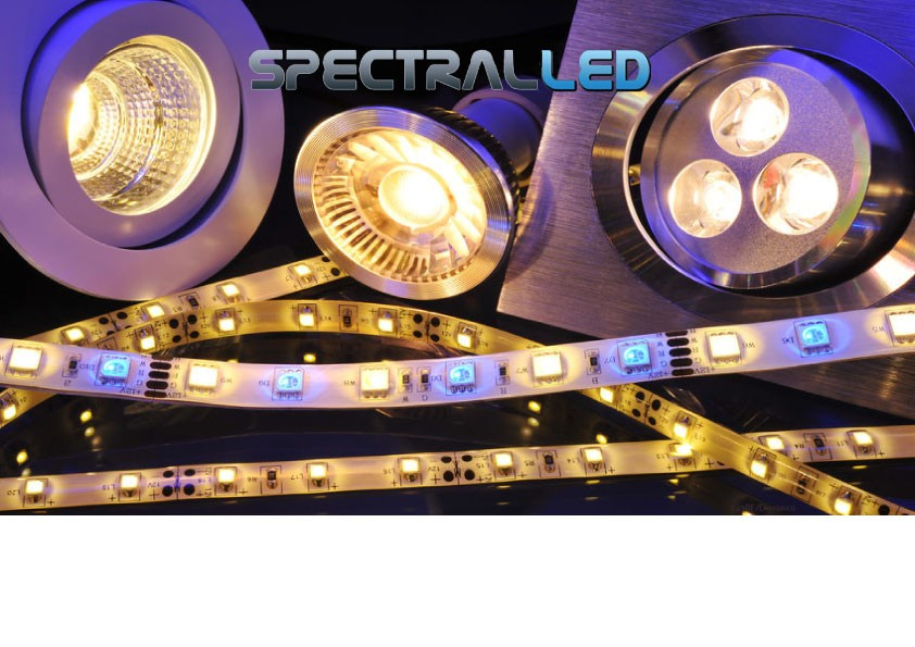 spectral LED, ruban, lampe, lampe led, LED, economic d'energie